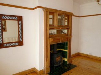 Back reception room