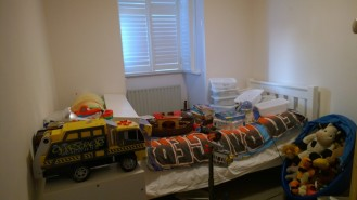 Boy's room before