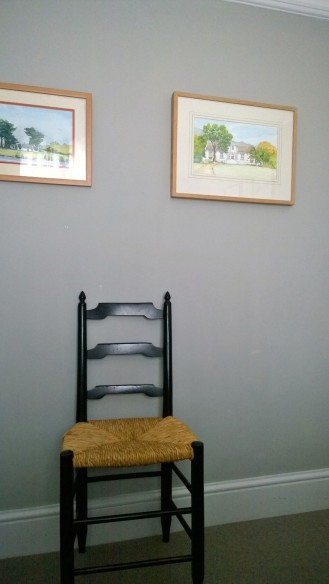 Guest room after