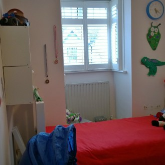 Boy's room after